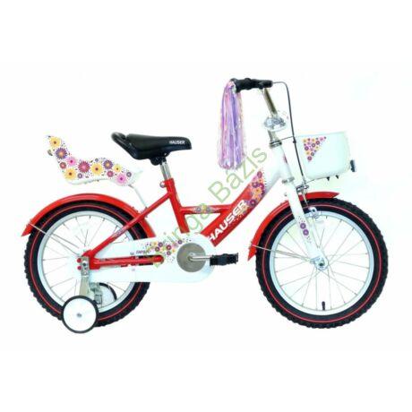 Hauser Swan gyerekkerékpár 16'', piros