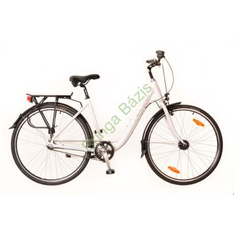Neuzer Padova női city kerékpár, agyváltós - fehér - rózsaszín