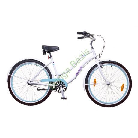 Neuzer MSunset női cruiser kerékpár, agyváltós - fehér-pöttyös