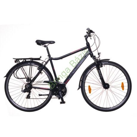 Neuzer Ravenna 100 Trekking kerékpár - fekete-bordó