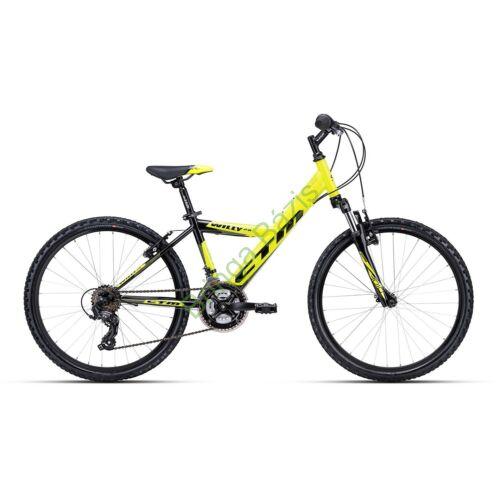 CTM WILLY 2.0 24 gyerek kerékpár (zöld)