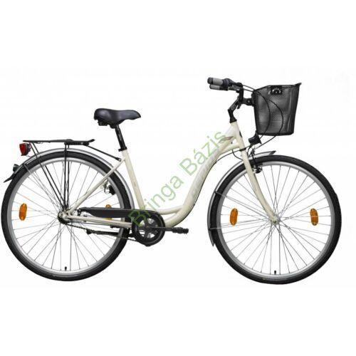 Gepida Reptila 100 city kerékpár 28'' - bézs-eszpresszó