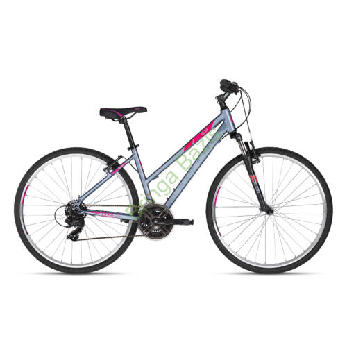 96f3c4f6555f Kellys CLEA 10 cross női kerékpár (Szürke/Pink)