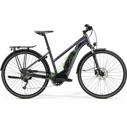 Merida eSpresso 300 SE EQ city e-bike, középmotoros, 9sp