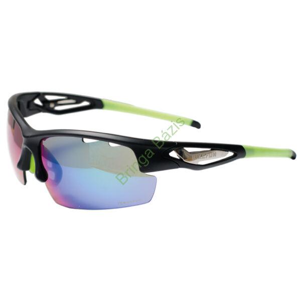 Bikefun Fly napszemüveg - fekete-zöld