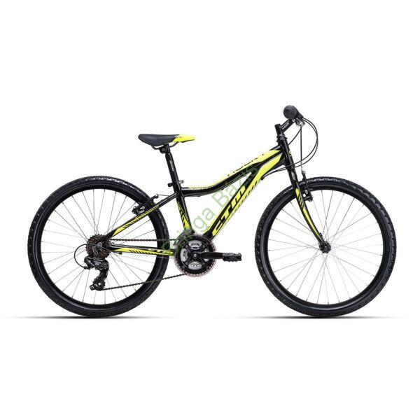 CTM ROCKY 1.0 24 gyerek kerékpár (sárga)