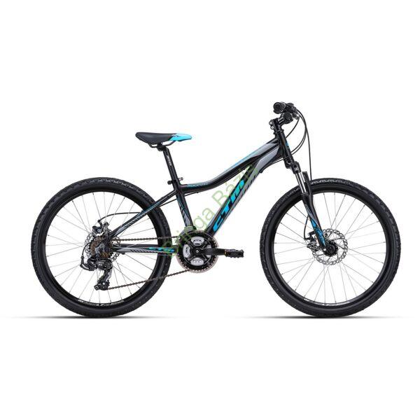 CTM ROCKY 3.0 24 gyerek kerékpár (kék)