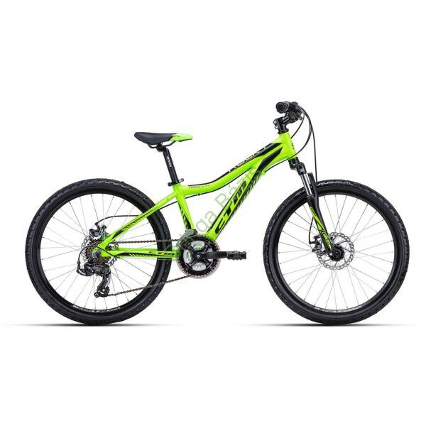 CTM ROCKY 3.0 24 gyerek kerékpár (zöld)