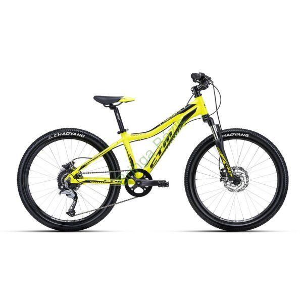 CTM ROCKY 4.0 24 gyerek kerékpár (sárga)