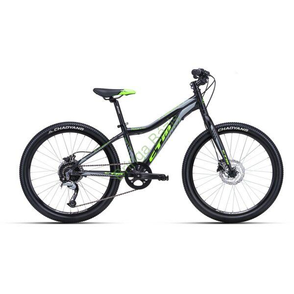CTM ROCKY 5.0 24 gyerek kerékpár (zöld)