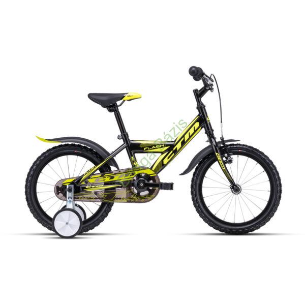 CTM FLASH 16 gyerek kerékpár (sárga)