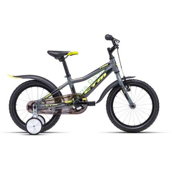 CTM FOXY 16 gyerek kerékpár (sárga)