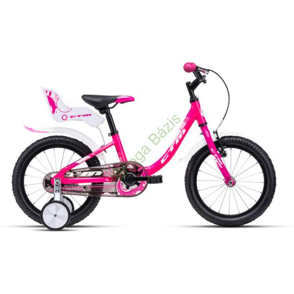 CTM MARRY 16 gyerek kerékpár (pink)