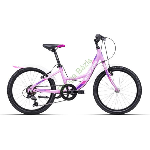 CTM Ellie gyerek kerékpár 20'', lila
