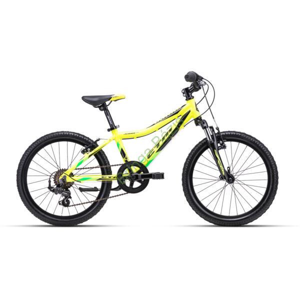 CTM Jerry 2.0 gyerek kerékpár 20'', sárga