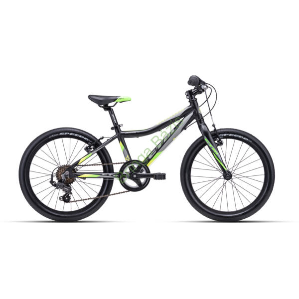 CTM Jerry 3.0 gyerek kerékpár 20'', zöld