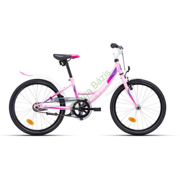 CTM Maggie 1.0 gyerek kerékpár 20'', pink