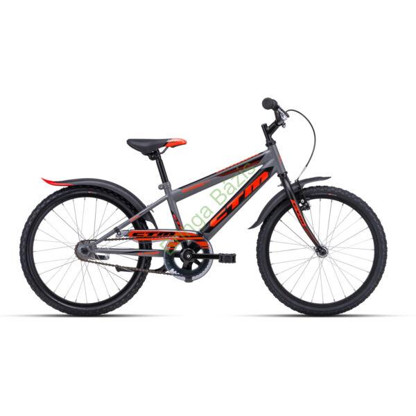 CTM Scooby 1.0 gyerek kerékpár 20'', narancs