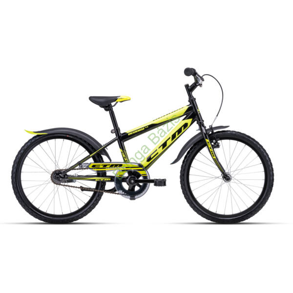 CTM Scooby 1.0 gyerek kerékpár 20'', sárga