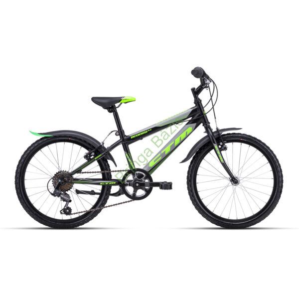CTM Scooby 2.0 gyerek kerékpár 20'', zöld