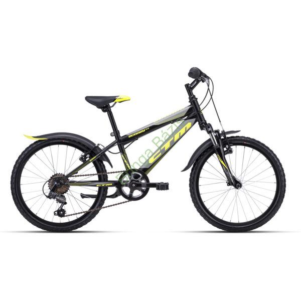 CTM Scooby 3.0 gyerek kerékpár 20'', sárga
