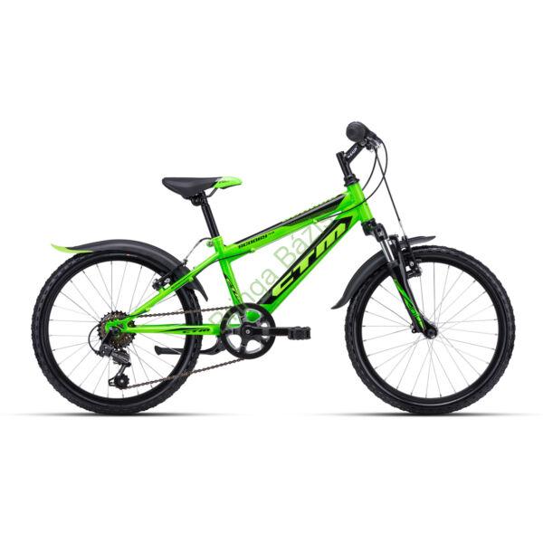 CTM Scooby 3.0 gyerek kerékpár 20'', zöld