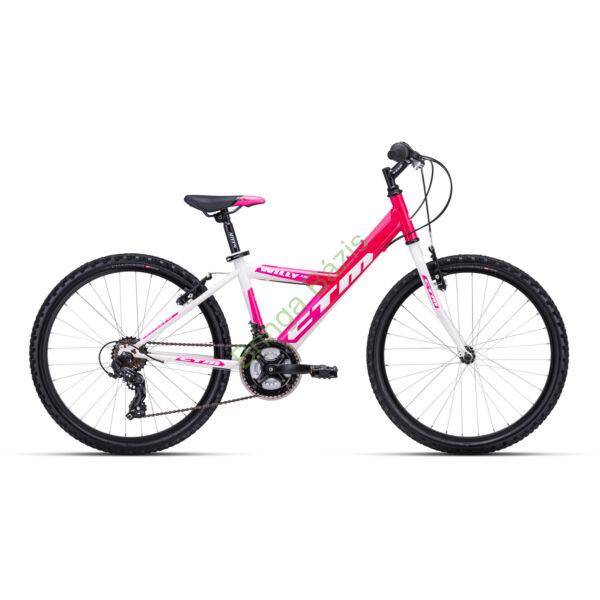 CTM WILLY 1.0 24 gyerek kerékpár (pink)