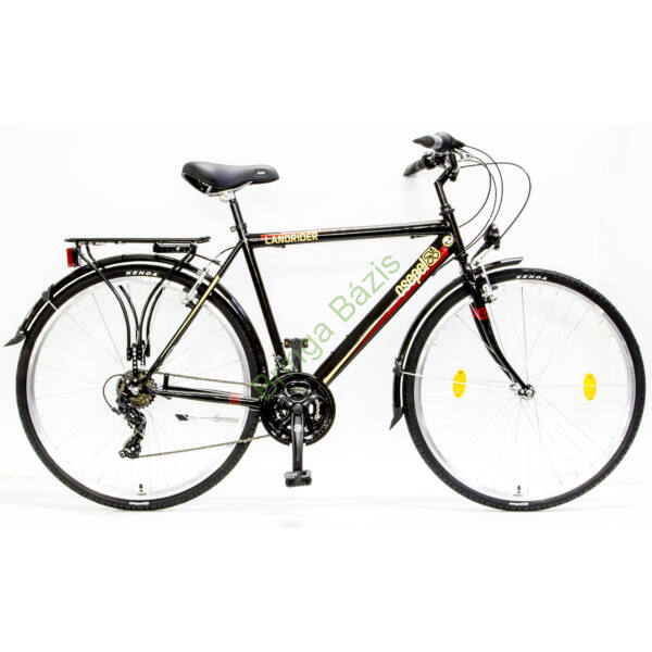 Csepel Landrider trekking kerékpár (21seb) - fekete