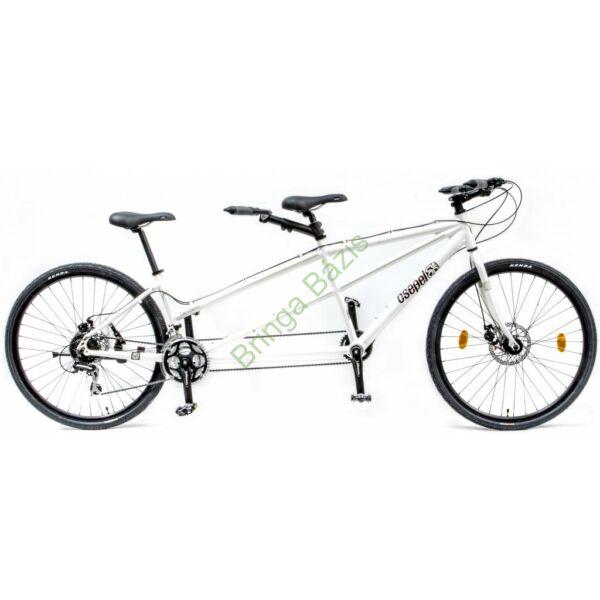 Csepel Tandem 100 kerékpár - krém