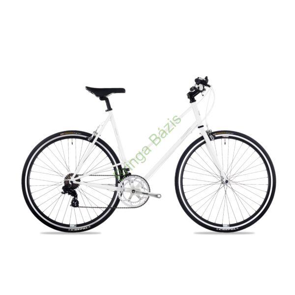 Csepel Torpedo 3* Lady fitness kerékpár - fehér