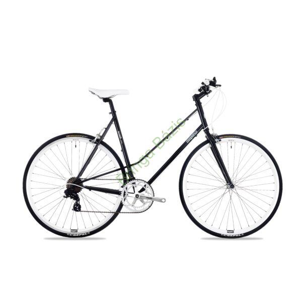 Csepel Torpedo 3* Lady fitness kerékpár - fekete