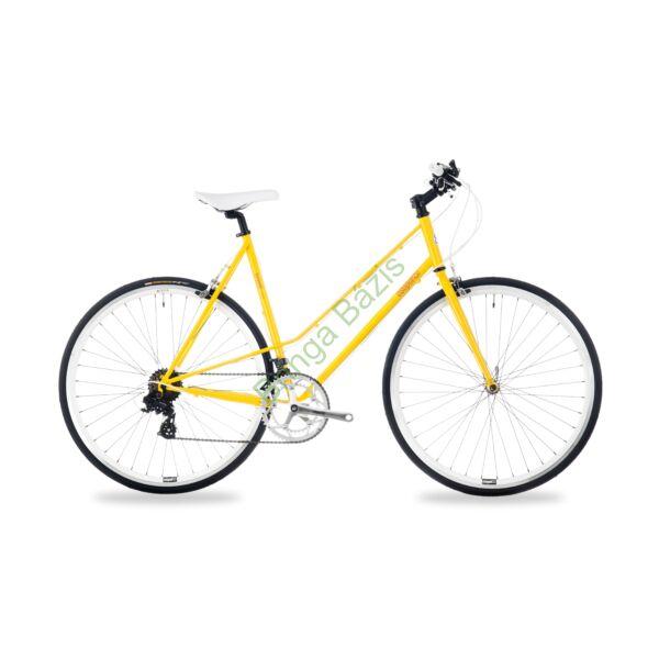 Csepel Torpedo 3* Lady  fitness kerékpár - sárga