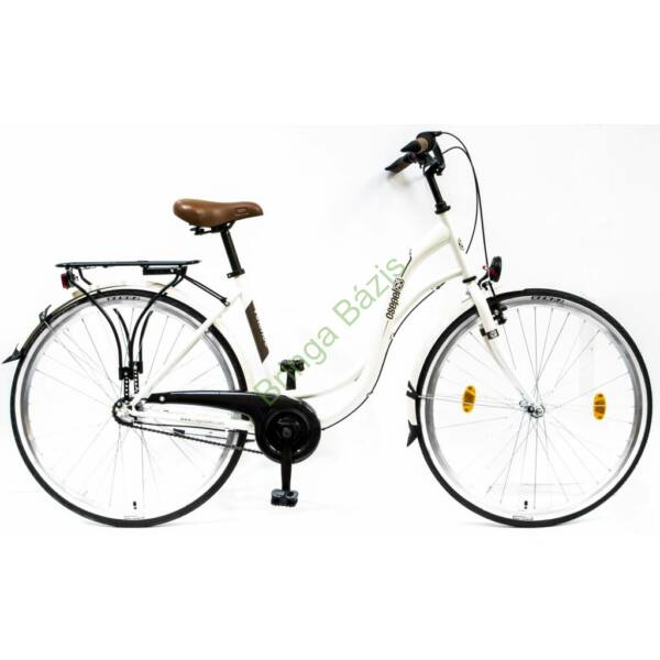 Csepel Velence 28 kerékpár, fehér