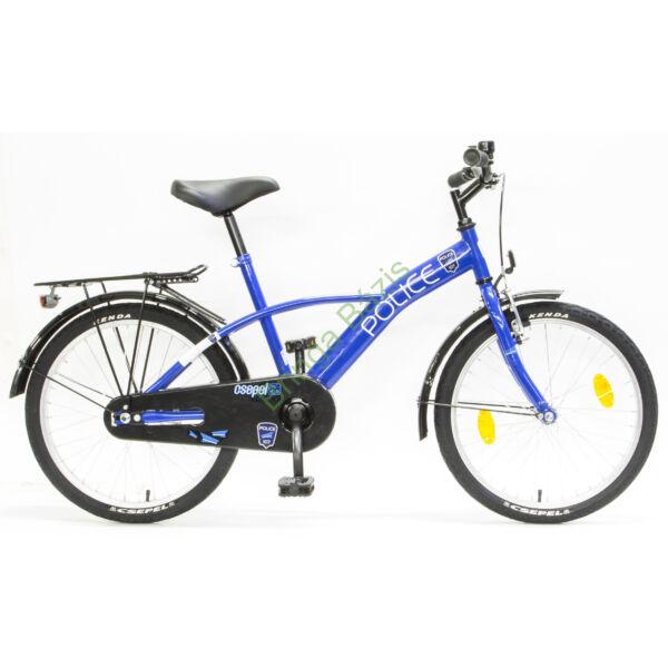 Csepel Police gyerek kerékpár 20'', kék