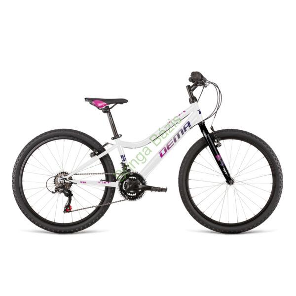 Dema Iseo gyerekkerékpár 24, 18seb, fehér
