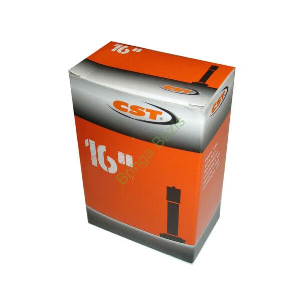CST 16x1.75 AV belső gumi, autó szelep