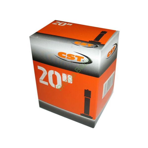 CST 20x1.75-2.125 AV belső gumi, autó szelep