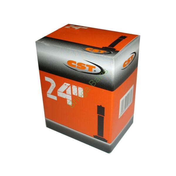 CST 24x1.75-2.125 AV belső gumi, autó szelep