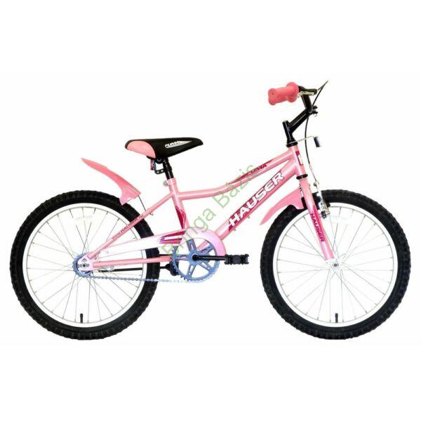 Hauser Puma gyerekkerékpár 20'', világos pink