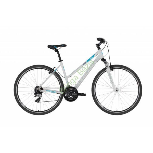 Kellys Clea 30 női cross kerékpár, fehér