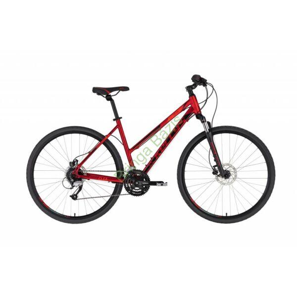 Kellys Clea 90 női cross kerékpár, piros