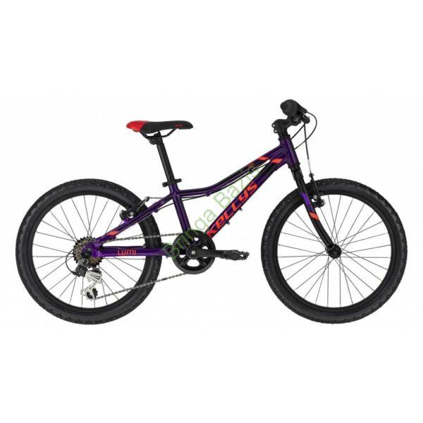 Kellys Lumi 30 gyerek kerékpár 20'', lila
