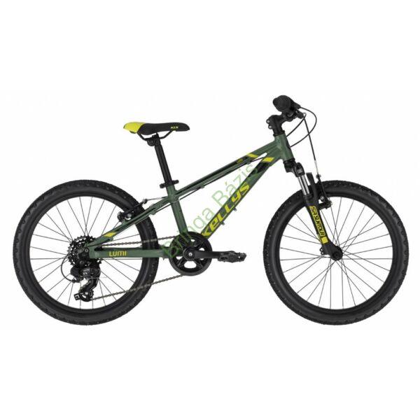 Kellys Lumi 50 gyerek kerékpár 20'', zöld