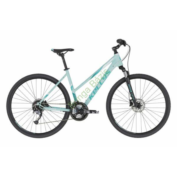 Kellys Pheebe 10 cross női kerékpár, menta