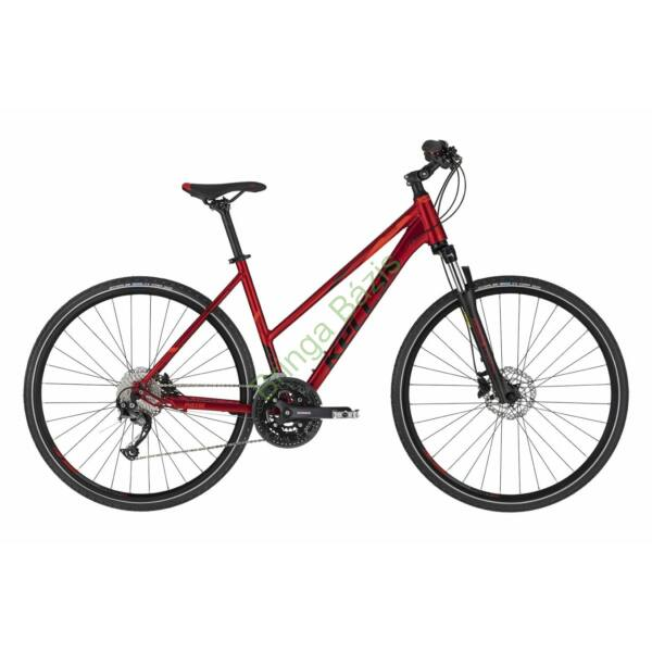 Kellys Pheebe 30 cross női kerékpár, piros