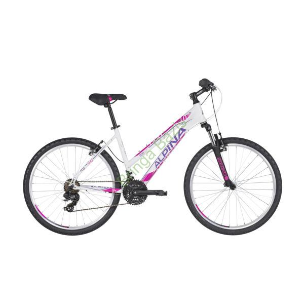 Kellys Alpina Eco M10 MTB 26 kerékpár (Fehér)
