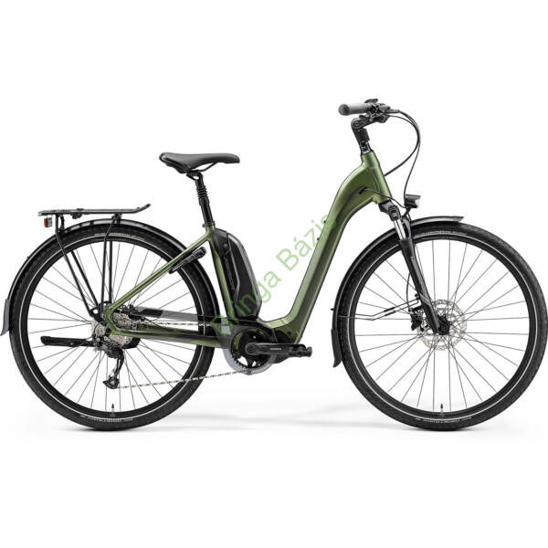 Merida eSpresso City 300 SE EQ city e-bike, középmotoros, 9sp