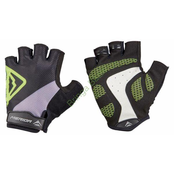 erida Classic Gel rövid ujjú kesztyű - zöld