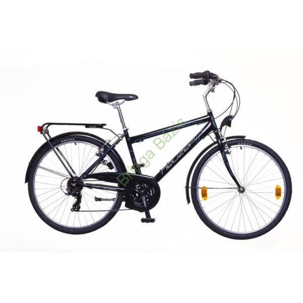 Neuzer Venezia 30 city kerékpár, 21seb, fekete-szürke