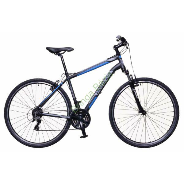 Neuzer X100 Cross kerékpár, fekete-kék